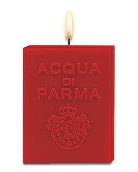 Acqua Di Parma Cube Candle - Red Spicy, Red
