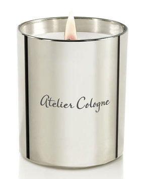 Gold Leather Candle Atelier Cologne