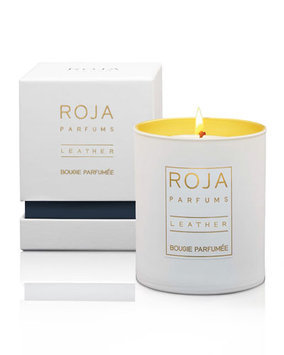 Roja Parfums - Leather Scented Candle - 9cm