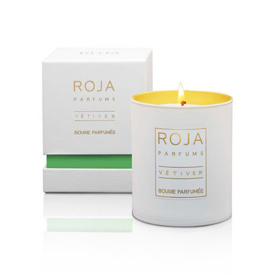 Roja Parfums - Vetiver Scented Candle - 9cm