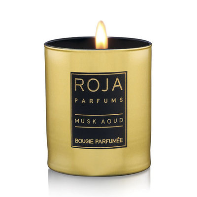 Roja Parfums - Musk Aoud Scented Candle - 9cm