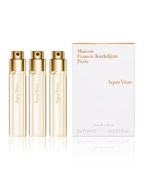Aqua Vitae Natural Eau de Toilette Spray Refills, 3, 0.37 oz. - Maison Francis Kurkdjian