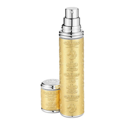 Creed Gold Leather Atomizer with Silver Trim, 10 mL