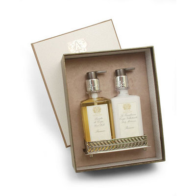 Prosecco Hand Wash & Moisturizer Gift Set with Tray - Antica Farmacista