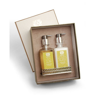 Grapefruit Hand Wash & Moisturizer Gift Set with Tray - Antica Farmacista