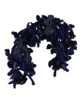 Gigi Burris Hyacinth Branch Velvet Headband