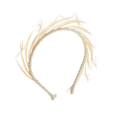 Gigi Burris Lyra Feather Headband