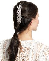 Jennifer Behr Crystal Double Hair Comb Barrette