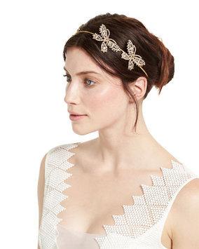 Jennifer Behr Mariposa Crystal Circlet Headband