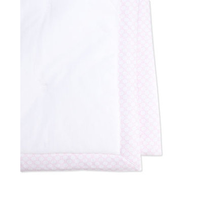 GUCCI Solid Blanket, White/Pink