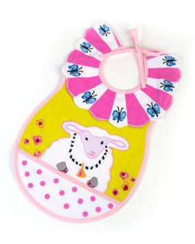 Mackenzie-childs Toddler Bib - PINK
