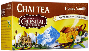 Celestial Seasonings Honey Vanilla Chai Tea Bags, 20 ct