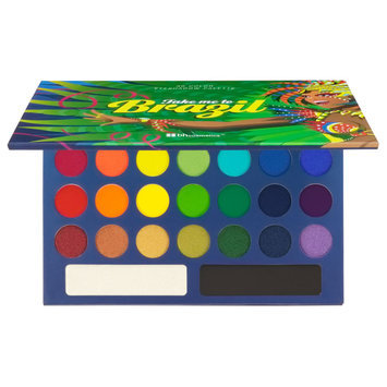 BH Cosmetics Take Me To Brazil Eyeshadow Palette