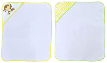 Hamco Neat Solutions Monkey 2 Pack Hooded Towel Set