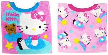 Hamco Neat Solutions Hello Kitty 2-Pack Fiber Reactive Pullover Bib Set - Flower
