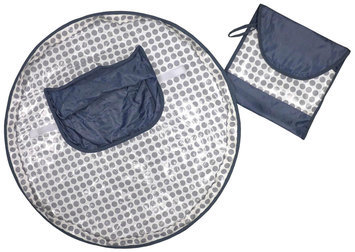 Hamco Neatnik Saucer High Chair Cover- Grey Dot