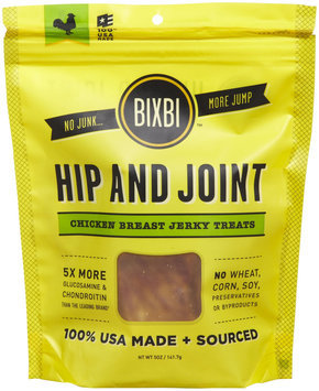 Organic Pet Superfood Bixbi Hip and Joint Jerky Dog Treat Chicken
