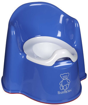 Baby Bjorn Potty Chair in Blue