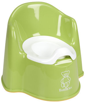 Baby Bjorn Potty Chair in Green