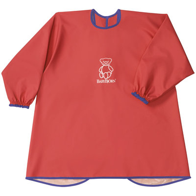 Baby Bjorn Eat and Play Smock Red 2014