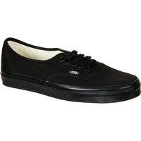 Vans Authentic Core Classic Shoe Black/Black, 6.0