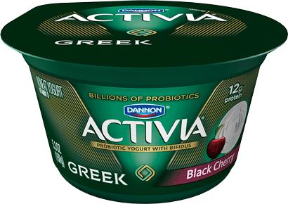 Activia® Black Cherry Probiotic Greek Nonfat Yogurt