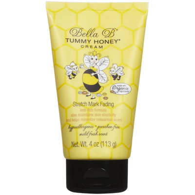 Bella B Tummy Honey Cream - Stretch Mark Fading - 4 oz Tube