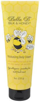 Bella B Silk & Honey Moisturizing Body Cream - 8 oz Tube