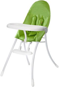 Bloom Baby Bloom Nano Urban Highchair - White Frame & Green Seat