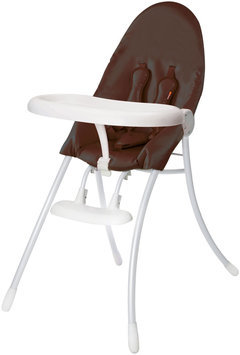 bloom nano Urban High Chair in White/Henna Brown