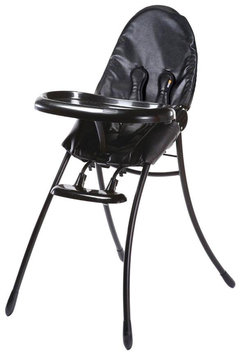 Bloom Nano Urban Highchair - Matt Black/Midnight Black