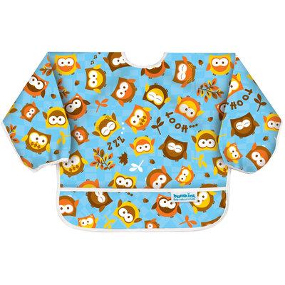 Bumkins Sleeved Bib - Owl