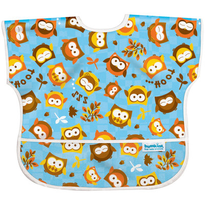 Bumkins Junior Bib - Owl - 1 ct.