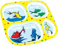 Bumkins Dr. Seuss Melamine Plates - One Fish