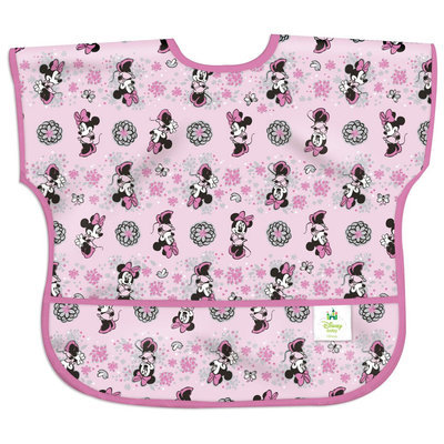 Bumkins Disney Baby Waterproof Junior Bib - Minnie Spring - 1 ct.