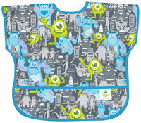 Bumkins Disney Baby Waterproof Junior Bib - Monsters - 1 ct.
