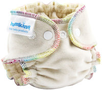 Bumkins Fitted Cloth Diaper - Natural Newborn - 1 ct.