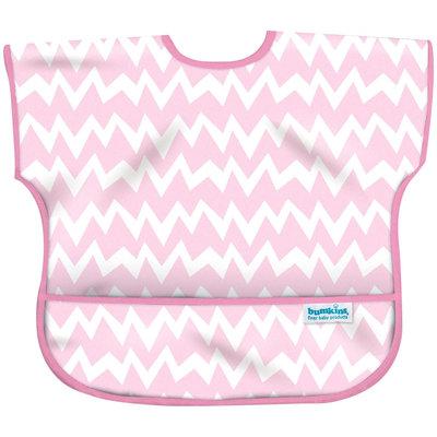 Bumkins Junior Bib - Pink Chevron - Girl - 1 ct.