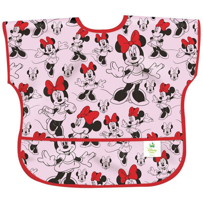 Bumkins Junior Bib - Minnie Classic - Girl - 1 ct.