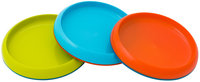 Boon Plate Edgeless Stayput Plate - Blue/Green/Orange - 3 Pk