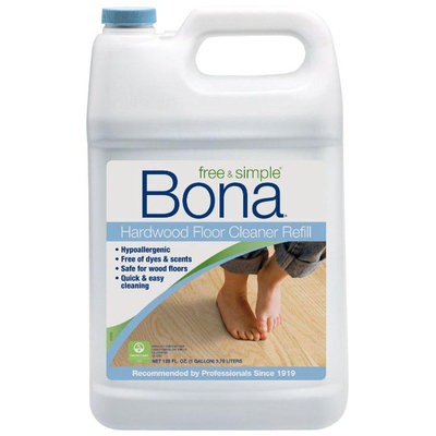 Bona Free & Simple Hardwood Floor Cleaner Refill, 128oz. - 1 ct.