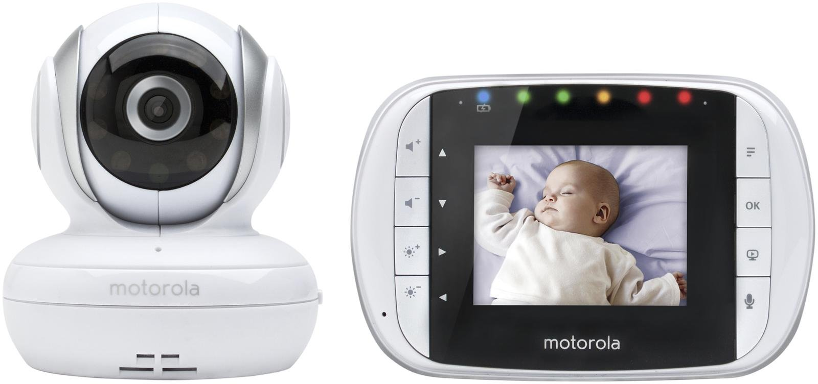 Motorola Remote Wireless Baby Monitor - MBP33S