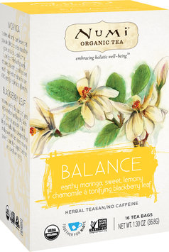 Numi Organic Tea Holistic Herbal Teasan Balance