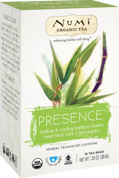 Numi Organic Tea Holistic Herbal Teasan Presence