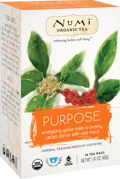 Numi Organic Tea Holistic Herbal Teasan Purpose