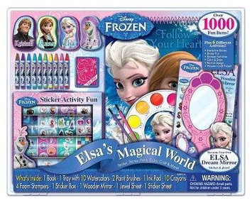 Disney Frozen 1000-piece Plus Activity Set