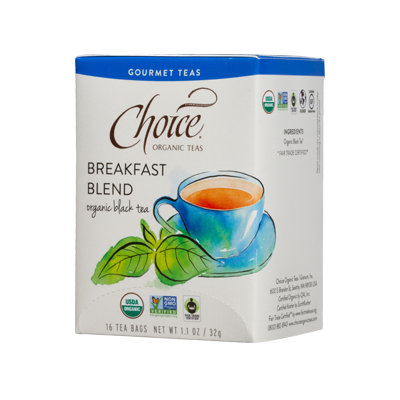 Choice Organic Teas Breakfast Blend Organic Black Tea