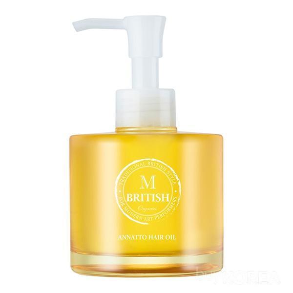 BRITISH M Organics Annatto Hair Oil