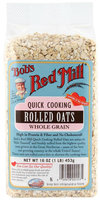 Bob's Red Mill Oats Rolled Quick, 16 oz