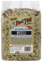 Bob's Red Mill Old ctry Style Muesli, 40 oz